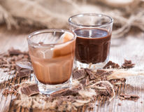 Chocolate Liqueur Royalty Free Stock Photos