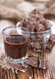 Chocolate Liqueur Stock Photography