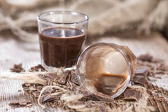 Chocolate Liqueur Stock Image
