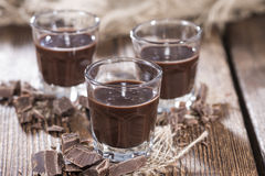 Chocolate Liqueur Royalty Free Stock Images