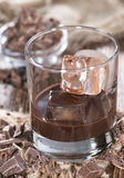 Chocolate Liqueur Stock Photos