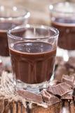 Chocolate Liqueur Shots Royalty Free Stock Photo