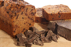 Chocolate loaf Royalty Free Stock Photo