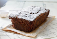 Chocolate loaf Stock Photography