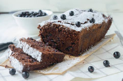 Chocolate loaf Royalty Free Stock Photos
