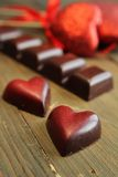 Chocolate for love Royalty Free Stock Photography