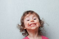 Chocolate lover Royalty Free Stock Image