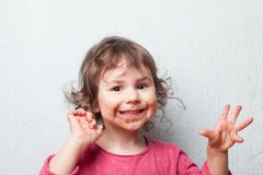 Chocolate lover Royalty Free Stock Photo