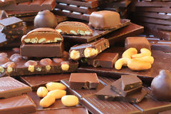 Chocolate lover's paradise Royalty Free Stock Photo