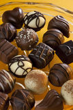 Chocolate - Luxury Cookies - Confectionery Royalty Free Stock Image