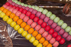 Chocolate macaroon Royalty Free Stock Images