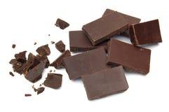Chocolate machacado Imagen de archivo libre de regalías