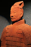 Chocolate-made terra-cotta warrior Royalty Free Stock Images