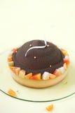Chocolate, Mango and Macadamia Cake Stock Image