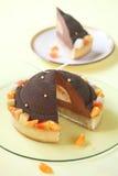 Chocolate, Mango and Macadamia Cake Royalty Free Stock Photo
