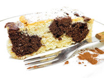 Chocolate Marble Cake. Royalty Free Stock Images
