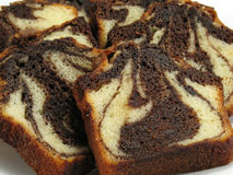 Chocolate Marble Cake Royalty Free Stock Image