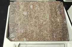 Chocolate marble sedimentary rock royalty free stock photo