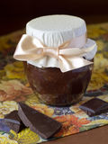 Chocolate marmalade Stock Photography