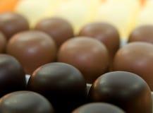 Chocolate marshmallow Stock Image