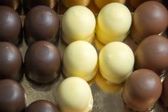 Chocolate marshmallow Stock Photo