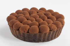 Chocolate Marshmallow Tart Royalty Free Stock Image