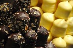 Chocolate Marshmallows Royalty Free Stock Image