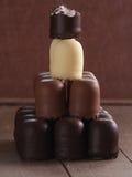 Chocolate marshmallows Stock Photo