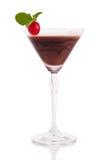 Chocolate martini Foto de archivo libre de regalías