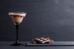 Chocolate martini Fotos de archivo