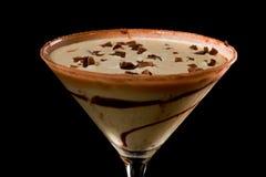 Chocolate martini Stock Image