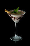 Chocolate martini Royalty Free Stock Photos