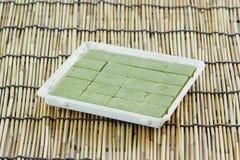 Chocolate matcha green tea Stock Images