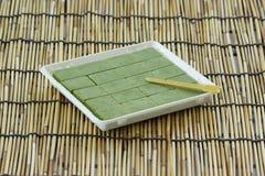 Chocolate matcha green tea Royalty Free Stock Photos