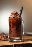 Chocolate mezclado hielo Imagen de archivo