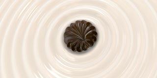 Chocolate milk2 Foto de archivo