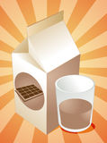 Chocolate milk Royalty Free Stock Photo
