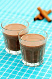 Chocolate milk Royalty Free Stock Photos