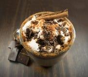 Chocolate milk. Stock Photos