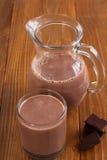 Chocolate milk Royalty Free Stock Photos