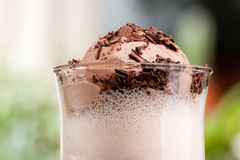 Chocolate Milk Float Stock Photos