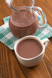Chocolate milk Stock Image