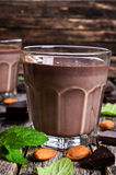Chocolate milk Royalty Free Stock Images
