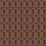 Chocolate milk seamless background texture vector Royalty Free Stock Photography