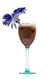 Chocolate milk-shake Stock Photos