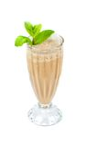 Chocolate milk shake Royalty Free Stock Photos