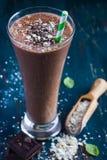 Chocolate milk smothie Stock Image