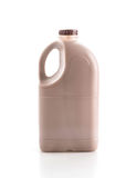 Chocolate milk. On white background Stock Photo