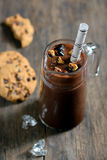 Chocolate Milkshake Royalty Free Stock Photos