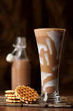 Chocolate Milkshake Drink Stock Photos
